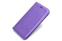 Чехол книжка Mofi New Case Samsung Galaxy J7 Prime SM-G610F/DS кожаный фиолетовый