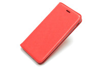 Чехол книжка Mofi New Case Samsung Galaxy J7 Prime SM-G610F/DS кожаный красный